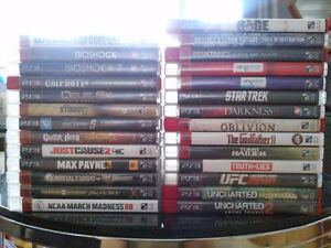 PS3 Playstation 3 Games Collection 27 Games Available