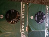 "THE BEATLES 7"" VINYL RECORD COLLECTION X 14 RARE ORIGINAL PRESSINGS PARLOPHONE"