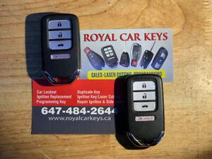 Honda/Acura Key Cutting/Programming