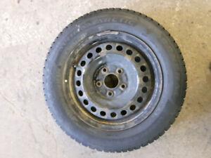 4 roues hiver 15 pouces pour Mazda 3 et civic,