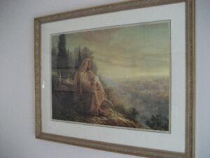 O JERUSALEM FRAMED LIMITED EDITION PRINT BY GREG OLSEN