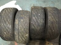 4x 195/55/15 tyres in good condition