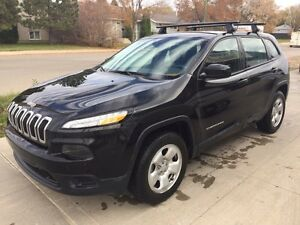 Reduced 2015 Jeep Cherokee Sport with Winter Package