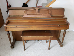 Apartment size Schubert Upright Piano