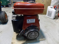 Wisconson WE 180 gas engine 5 Hp NEW side shaft never been used