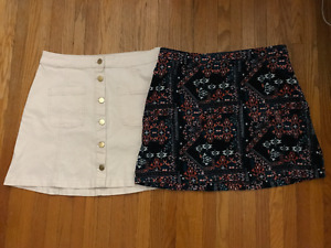 Womens Skirts - Various Sizes - H&M, Dynamite, Garage and more!