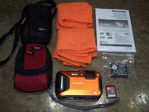 Panasonic Lumix Waterproof/Shockproof/Freezeproof camera