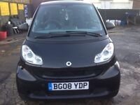 Smart fortwo cupe semi auto 2008 low mil58k