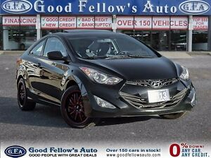 2013 Hyundai Elantra Coupe GL MODEL, 2 DOOR, SUNROOF