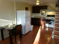 Furnished apartment, available May 1, close to NBCC Campbellton