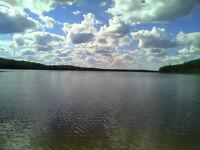 Vends magnifique terrain bord du lac Buies  pres de Clova, Que.