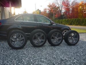 nokian hakkapeliitta 8 sur roues mercedes C250 C300 C350