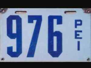 Early PEI License Plates Wanted
