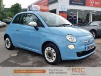 FIAT 500 COLOUR THERAPY 2013 Petrol Manual in Blue