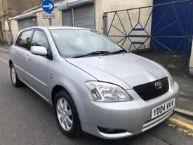 2004 Toyota Corolla 1.4 VVT-i Colour Collection Hatchback 5dr Petrol Manual