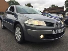 2006 RENAULT MEGANE 1.4 DYNANIQUE, 12 MONTHS MOT, 5 DOOR GREY