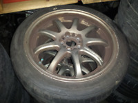 JDM WorkEmotion Work OEM Rims Wheels Toyo Tires 5x100 17x7.5