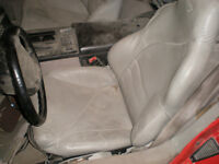 C4  Corvette Grey Leather Bucket seats and other parts