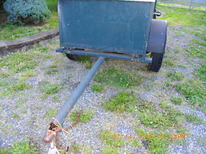Ubuilt Utility Trailer With BC Regestration
