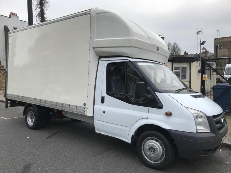 184516c2e9 Ford Transit Luton Van Tail Lift Cheap Clean Clean Luton ready for work