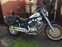 Yamaha Virago DX 535cc. Reg 2000 'W'