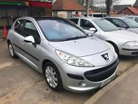 2007 Peugeot 207 1.6 16v SE - Service History - Invoices - 1 Year MOT 04/18