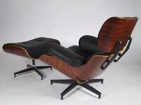 Eiffel Lounge Chair Black,Noir, Chaises, Fauteuil