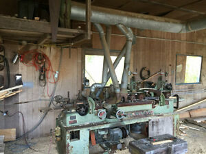 MOULDING  MILL  EQUIPMENT  ( MOULDER & SAWS )