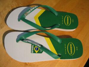 MEN'S FLIP FLOPS FROM BRAZIL (HAVAIANAS) SIZE 11-12 FOR SALE