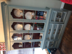 China Cabinet & Electric Fire Place for sale