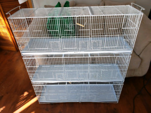 Stacking bird cages