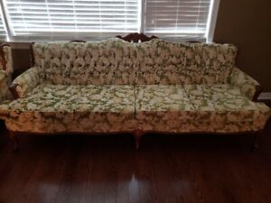 Sofa & Chair - 70's vintage French Provincial