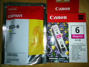 New & Sealed Canon Magenta &Yellow Ink Tanks: Save Over $25!