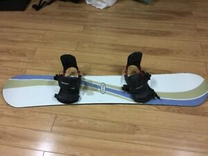 LImited Snowboard with Option bindings