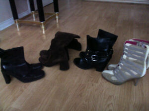 boots / shoes/ purses