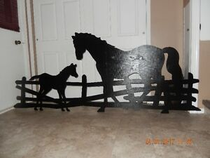 HORSE & COLT YARD SHADOW