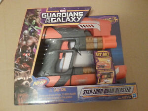 Nerf Star-Lord Quad Blaster guardians of the galaxy