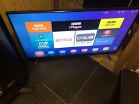 Hisense 4K smart UHD LED Tv wi-fi Netflix YouTube warranty pvr record