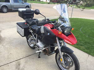 2005 BMW 1200GS Excellent condition (Trade for Sled)