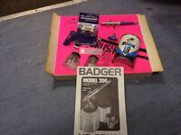 Model trains Badger air brush.