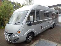 Burstner Elegance i810 Rear Garage Rear Fixed Bed 6 Berth Deposit Taken