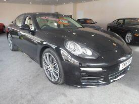 Porsche Panamera D V6 TIPTRONIC (basalt black) 2015