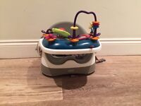 Mamas and papas baby chair with toy