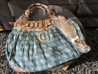Guess, Bench & Black leather bags