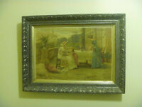 """SSAA Robinson Bristol """"Auntie"""" Print In Pewter Finish Frame"""