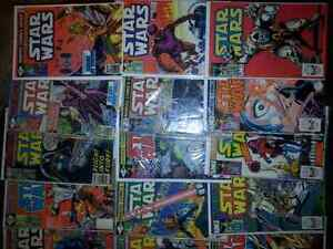 21 Star wars vintage  comics Cambridge Kitchener Area image 2