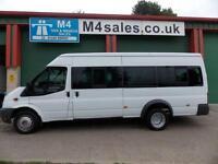 Ford Transit 430 115ps,17 Seat Minibus 6 Speed
