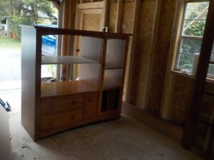 BOOKCASE/TV/DISPLAY CABINET