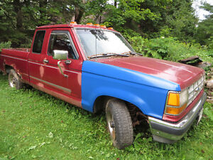 1992 Ford Ranger Ext Cab for parts or repair
