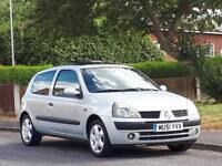 Renault Clio 1.2 16v Dynamique,LONG MOT,LOW TAX,LOW INSURANCE,CHEAP TO RUN